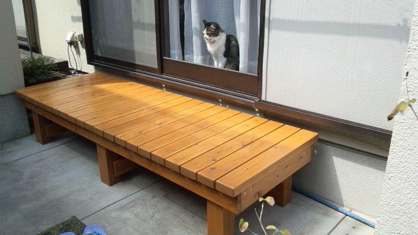 縁台(ミニデッキ)