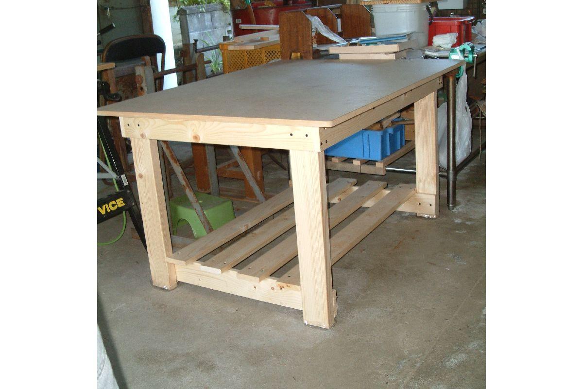 工作用テーブル(大・小)