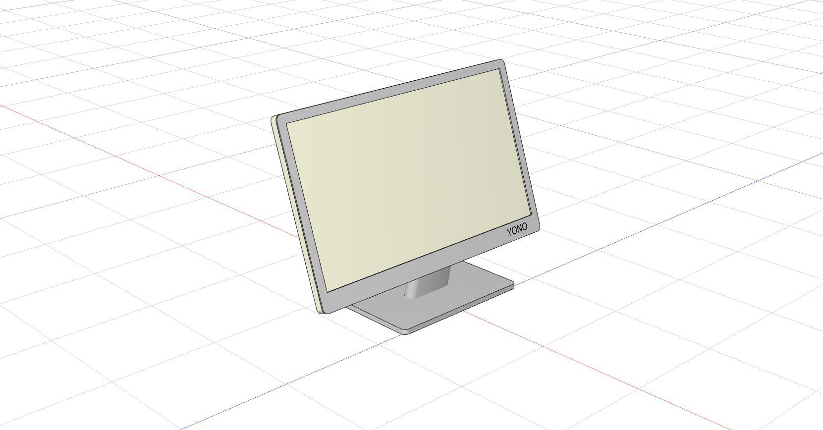 パーツ5 PCモニター24インチを書きました