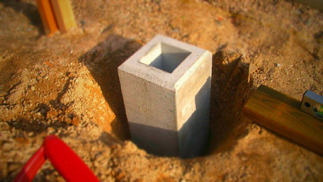 【庭造りDIY】独立基礎をマスターして柱を立てる