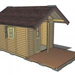 ドゥーパ!小屋の3D図面を公開