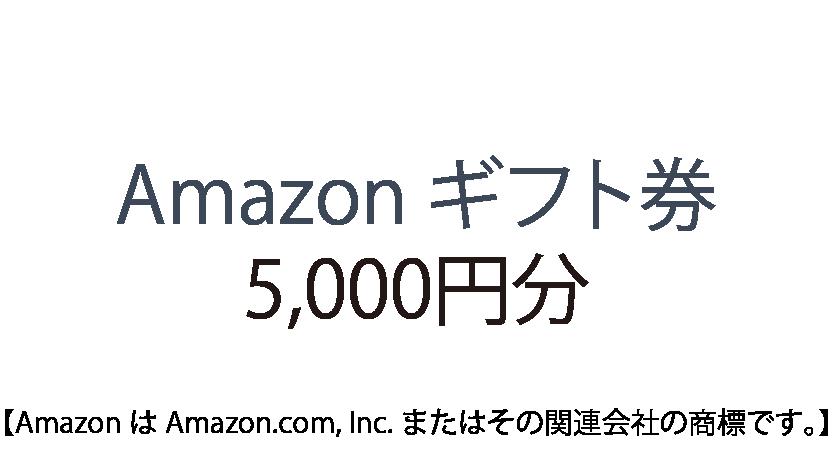 Amazon ギフト券 5,000円分